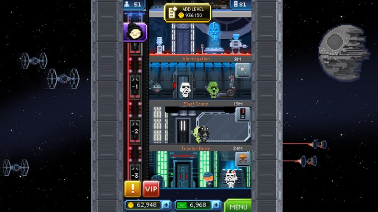 Star Wars: Tiny Death Star screen shot 2