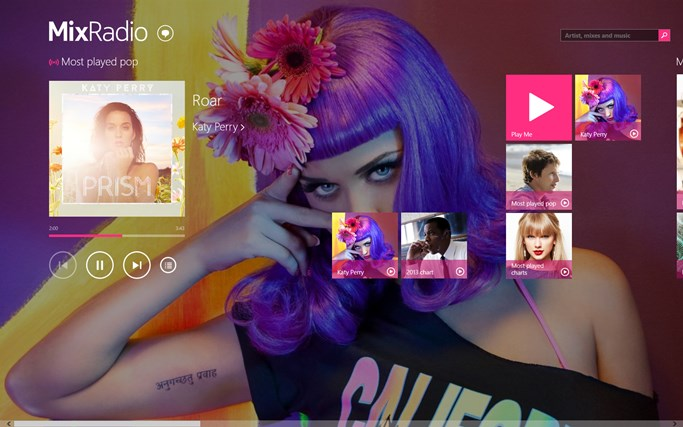 MixRadio screen shot 0