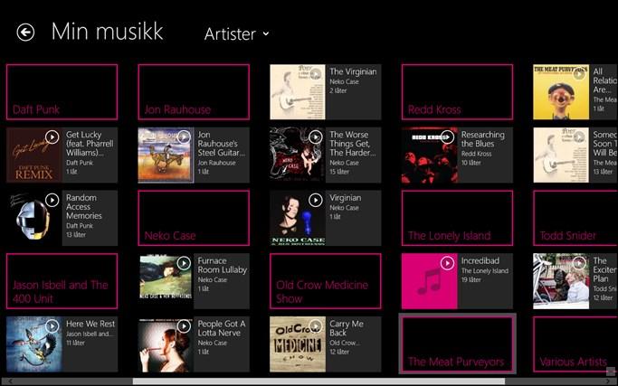 MixRadio skjermbilde 2