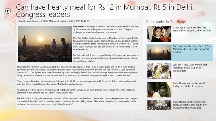 NDTV screen shot 6