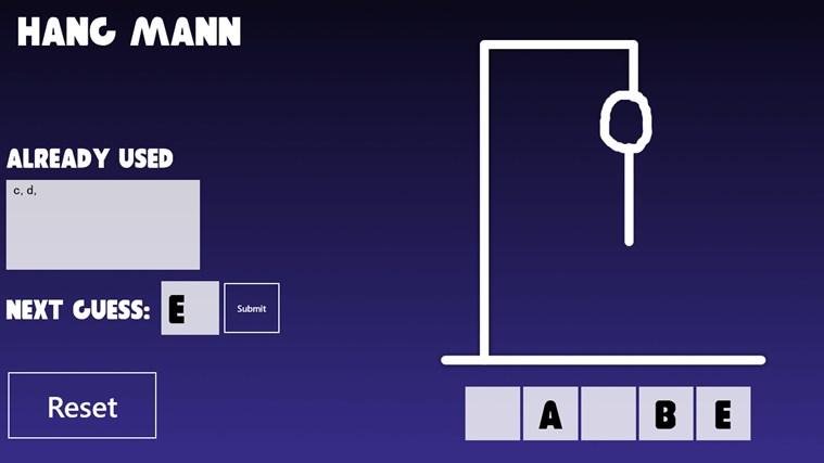 Hang Mann – 0. képernyőkép