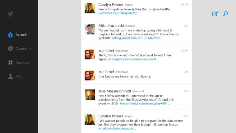 Twitter capture d'écran 0
