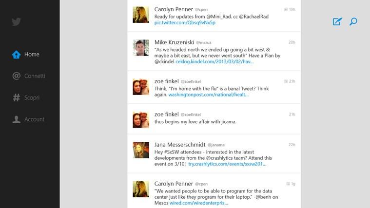 Twitter cattura di schermata 0