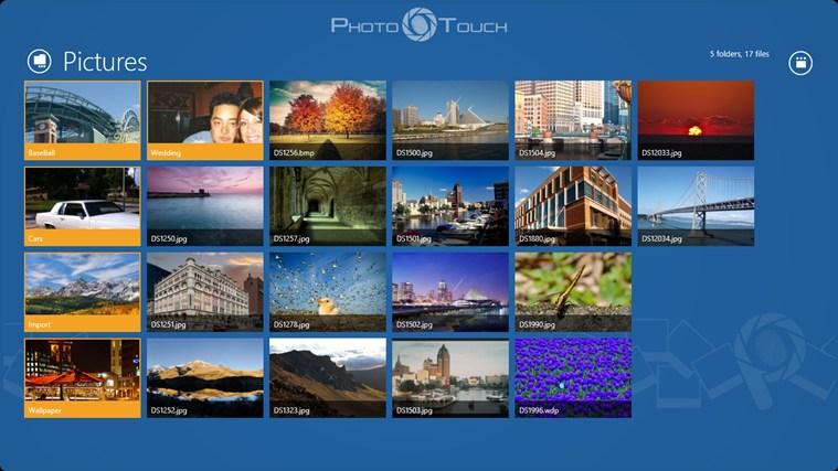PhotoTouch screenshot