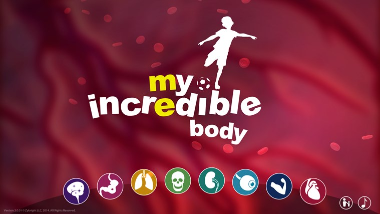My Incredible Body - A Kid's App to Learn about the Human Body screen shot 8