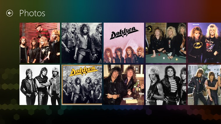 Dokken FANfinity screenshot 2