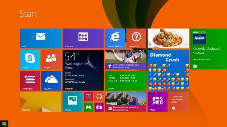 Dimond Crush app for Windows in the Windows Store
