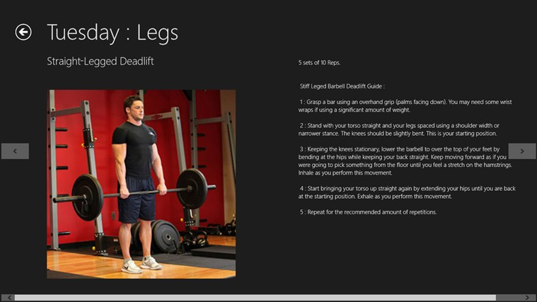 FitnessEdge screen shot 4