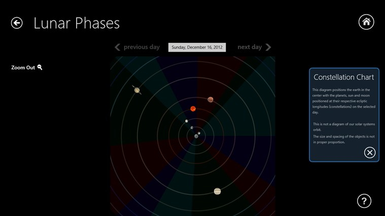 Lunar Phases screen shot 6