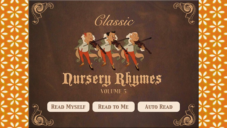 Nursery Rhymes Vol. 5 screen shot 0