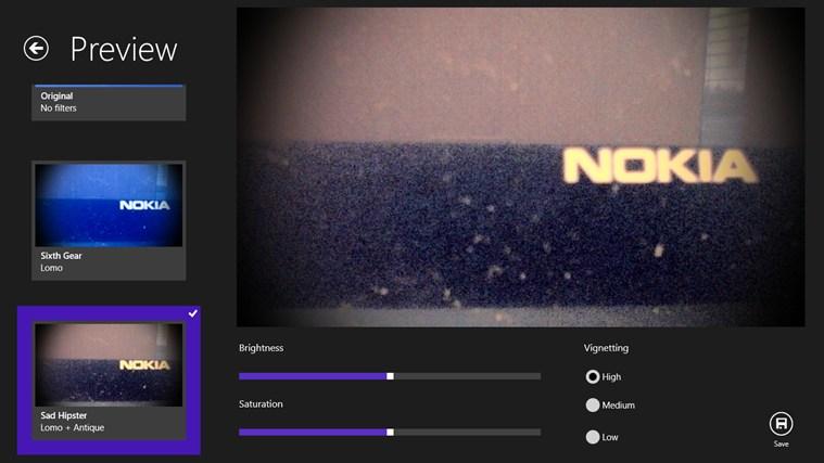 Filter Effects screen shot 0