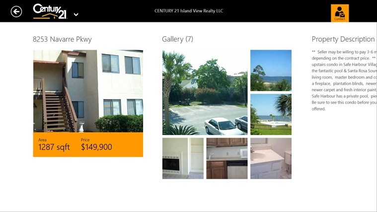 CENTURY 21 Island View Realty LLC - Navarre screen shot 2