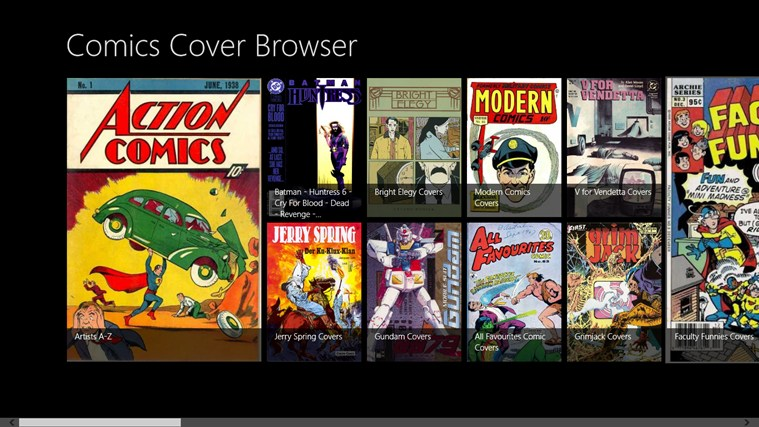 Comics Cover Browser screenshot 0