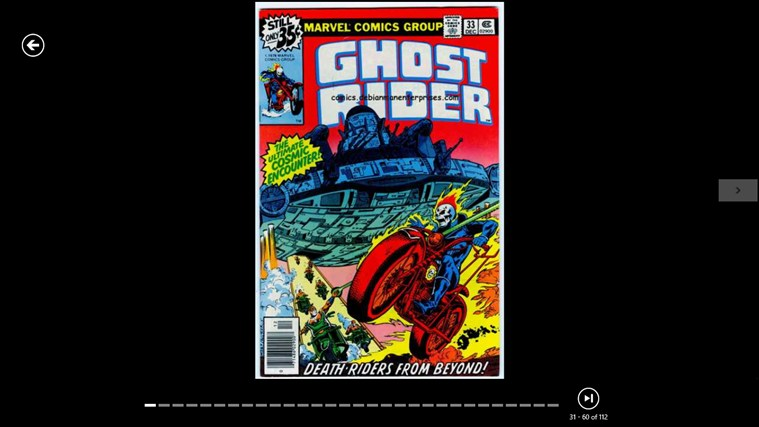 Comics Cover Browser screenshot 2