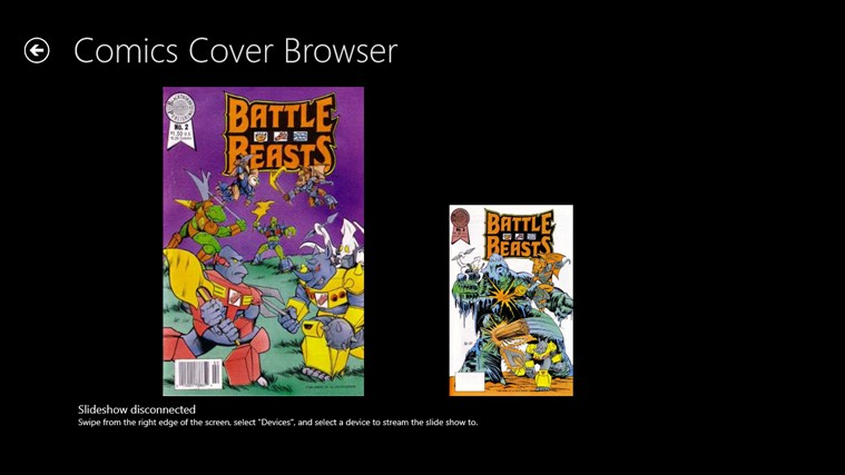 Comics Cover Browser screenshot 4