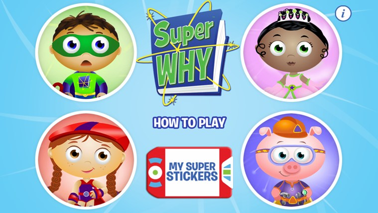 SUPER WHY! screen shot 0