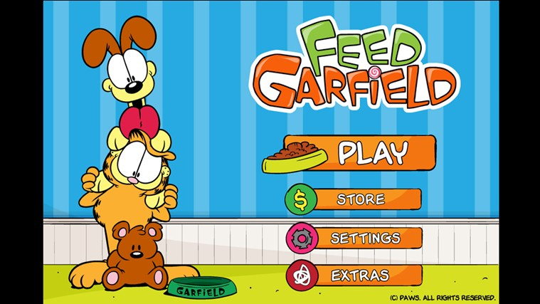 Feed Garfield! screen shot 0