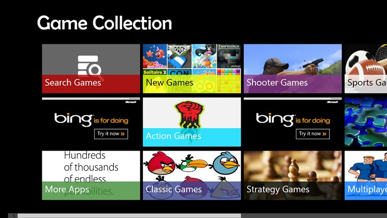 Game Collection screen shot 0