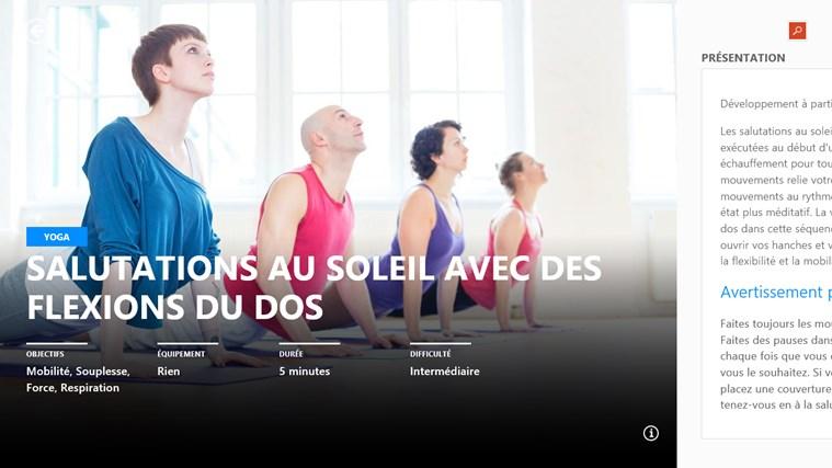 MSN Santé & Forme capture d'écran 2