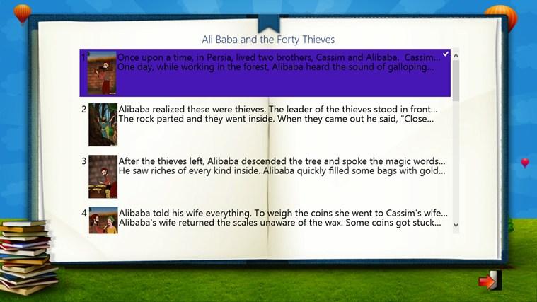 Ali Baba and the Forty Thieves captura de pantalla 2
