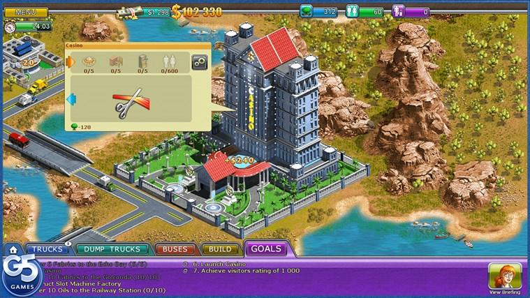 Virtual City 2: Paradise Resort HD-skärmbild 2