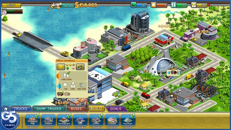 Virtual City 2: Paradise Resort HD-skärmbild 4