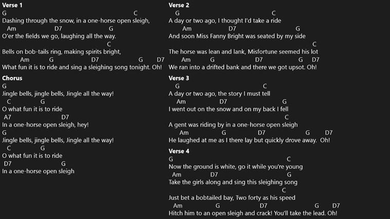 Chord Chart screenshot 4