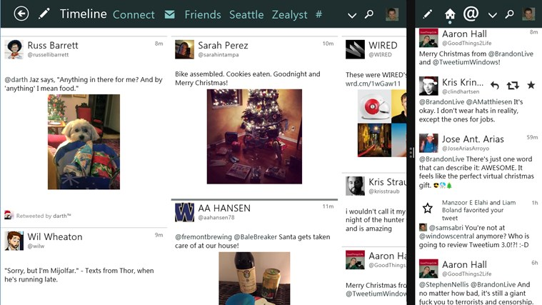 Tweetium screen shot 4