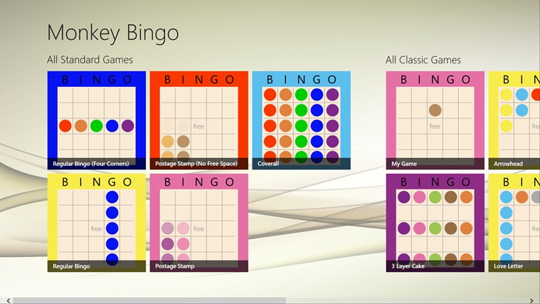 Monkey Bingo screenshot 2