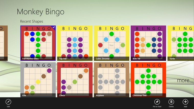 Monkey Bingo screenshot 6