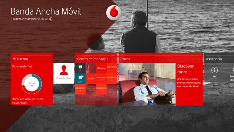 Vodafone Mobile Broadband captura de pantalla 0