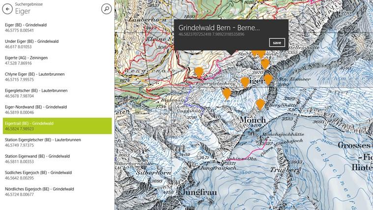OutdoorMaps schermafbeelding 4