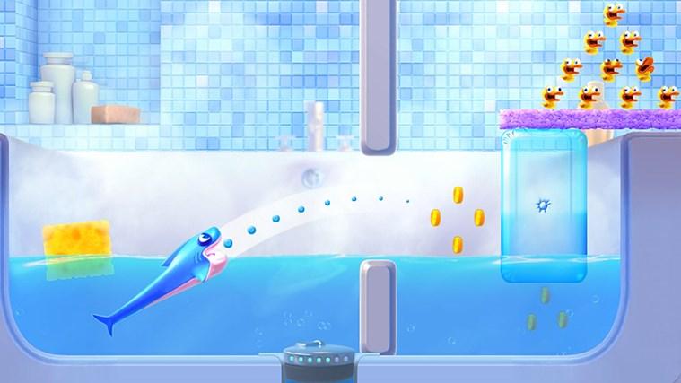 Shark Dash! By Gameloft screen shot 0