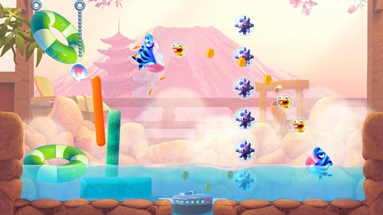 Shark Dash! By Gameloft screen shot 4