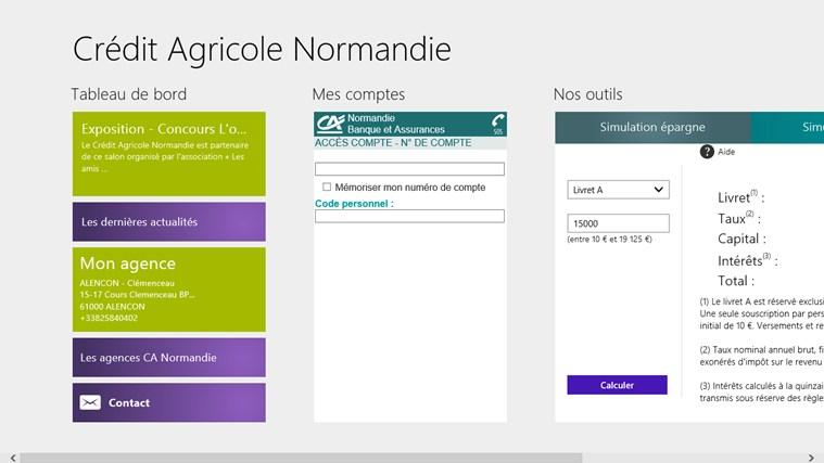 Crédit Agricole Normandie capture d'écran 0