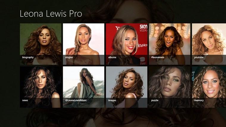 Leona Lewis Pro Screenshot 0