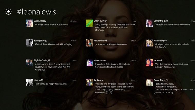 Leona Lewis Pro Screenshot 4