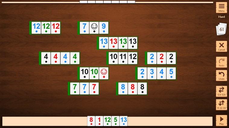 Rummi app f r windows in windows store - Killer sudoku combinations table ...