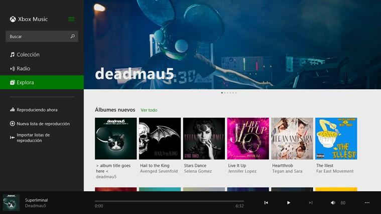Música captura de pantalla 2