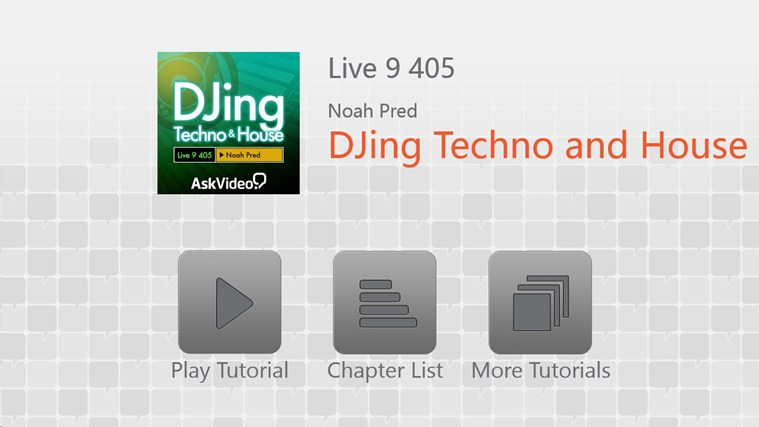 Live 9: DJing Techno and House screen shot 0
