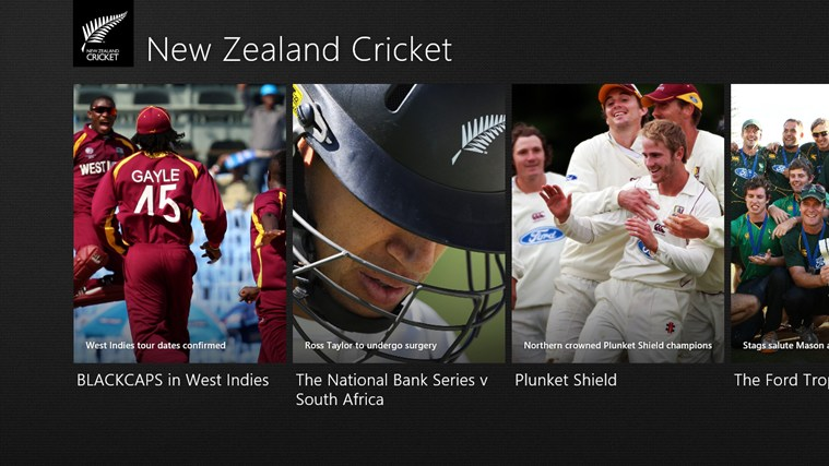 New Zealand Cricket screen shot 0