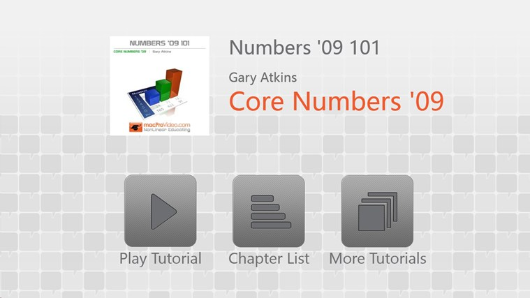 Numbers '09 101 - Core Numbers '09 screen shot 0