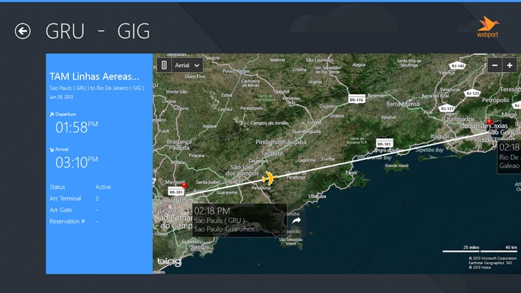 Rio de Janeiro Airport GIG + Flight Tracker captura de tela 0