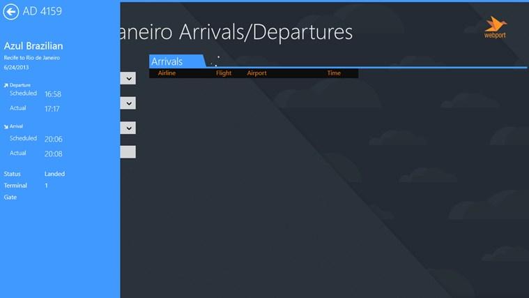 Rio de Janeiro Airport GIG + Flight Tracker captura de tela 2