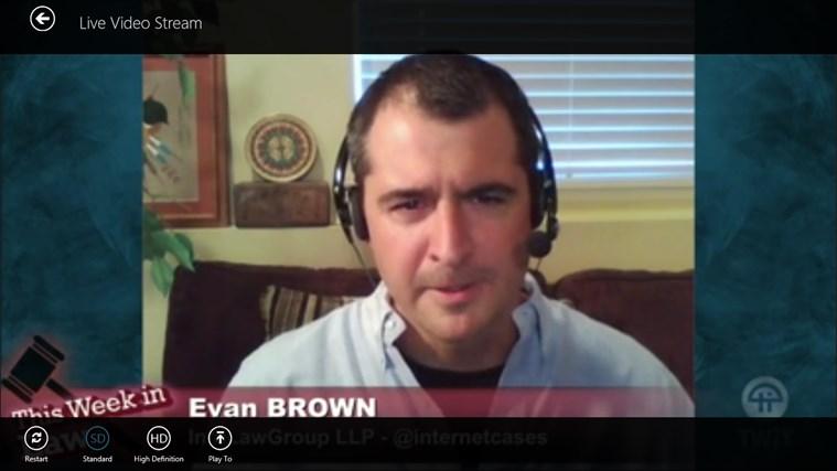 Twit Tv screen shot 6