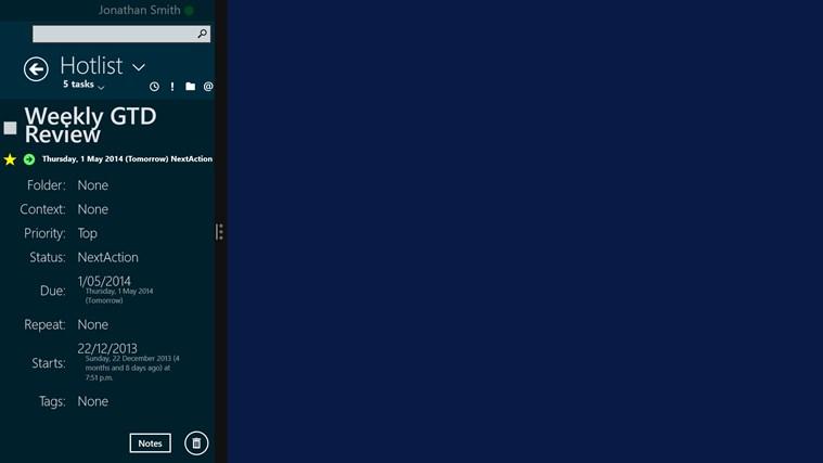 SharpTasks screen shot 4
