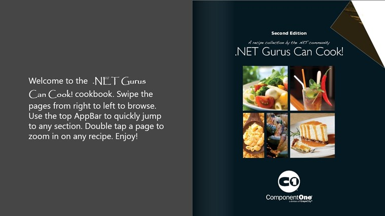 .NET Gurus Can Cook! screen shot 0