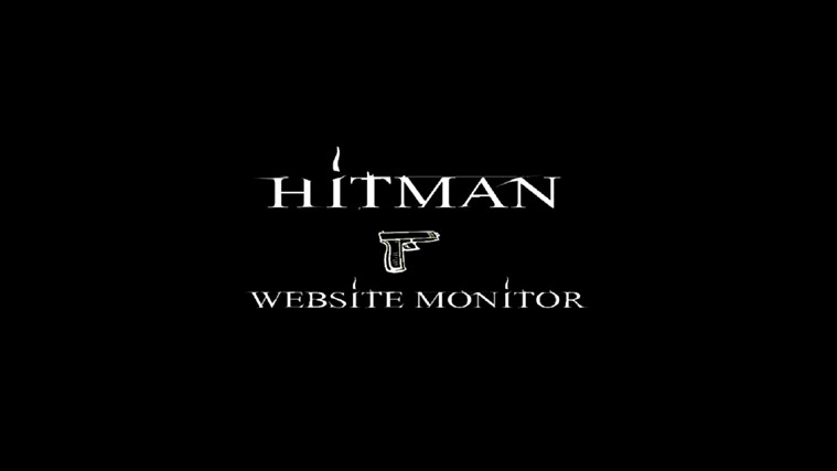 Hitman Website Monitor screen shot 6