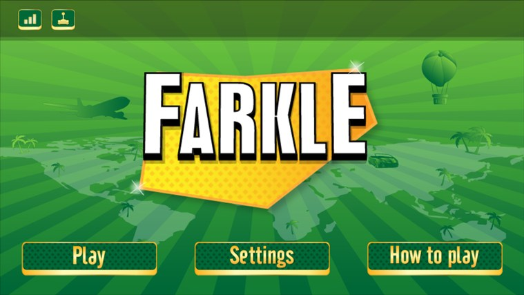 Game of Farkle screen shot 0