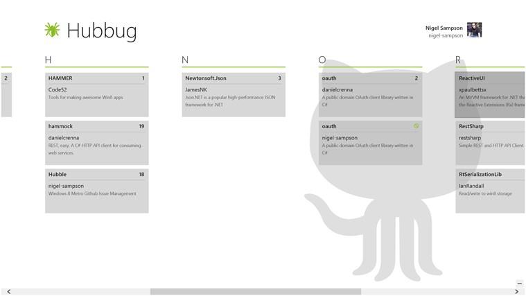 Hub Bug screen shot 0